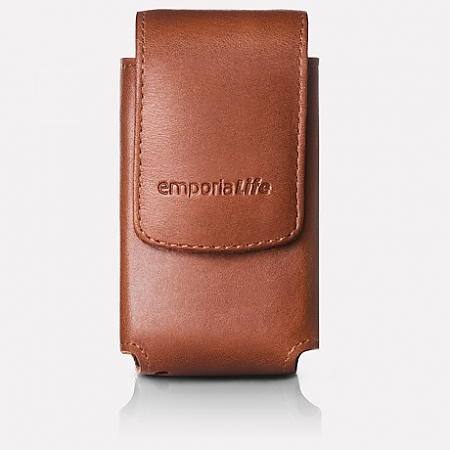 Leather case with belt clip